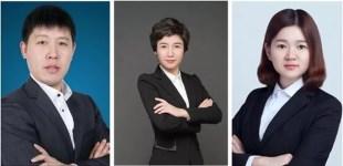 傅增强律师、张爱慧律师和胡海珠实习律师