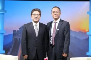 赵健主任做客CCTV水均益老师《信用华夏》栏目